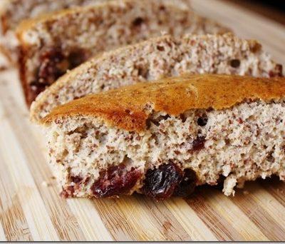 Cranberry Protein Bread Recipe