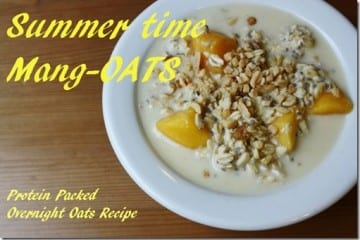Overnight Mango-Oats Recipe