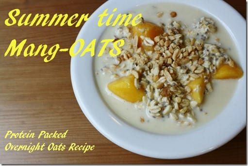 Overnight Mang-oats recipe