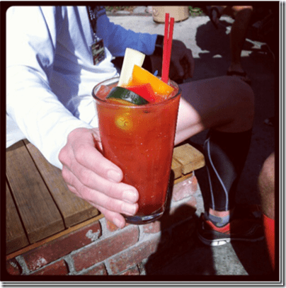 bloody mary with coach steve