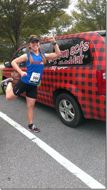 cabot cheese van pre race 450x800 thumb Beach to Beacon 10k Race Recap