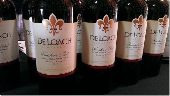 de loche wines 800x450 thumb Santa Rosa Marathon Results and Race Recap