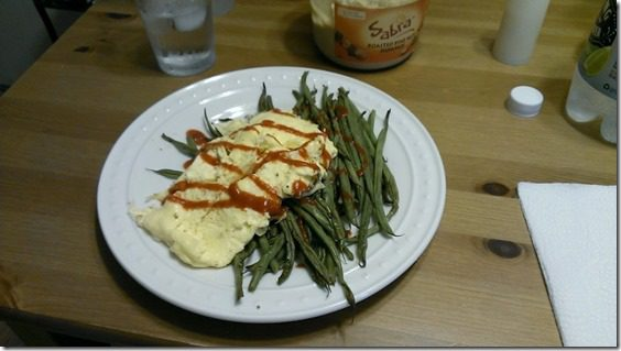 dinner with eggs and green beans (800x450)