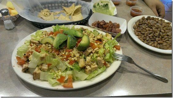 epic salad at lolas