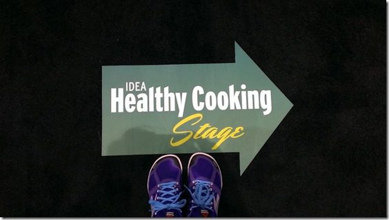 healthy cooking stage at idea world 450x800 thumb IDEA World Fitness Conference and Expo Day Two