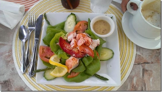 lobster salad in maine 800x450 thumb Beach to Beacon 10k Race Recap