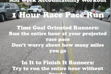 New York Marathon Training Mid-Week Accountability Run