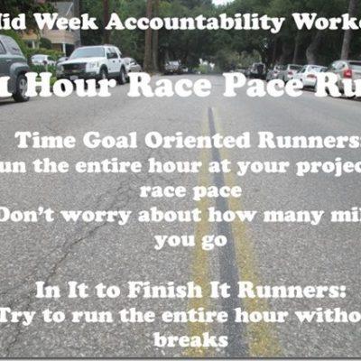 New York Marathon Training Mid-Week Accountability Run