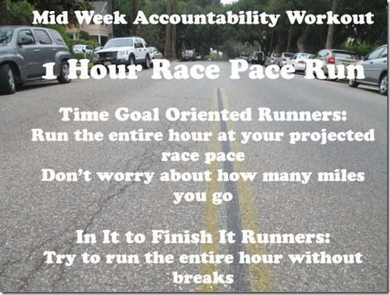 mid week run new york city marathon training thumb New York Marathon Training Mid Week Accountability Run