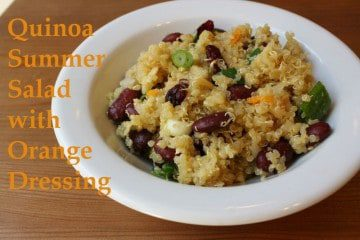 Quinoa Citrus Salad with Orange Dressing Recipe
