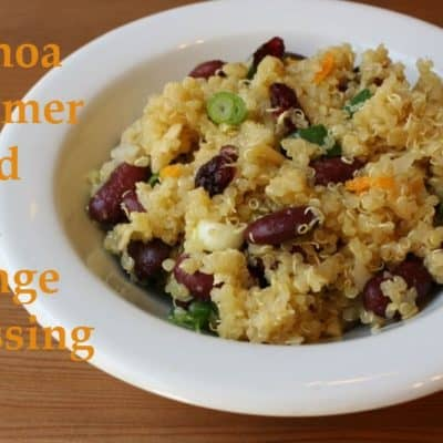 Quinoa Citrus Salad with Orange Dressing Recipe