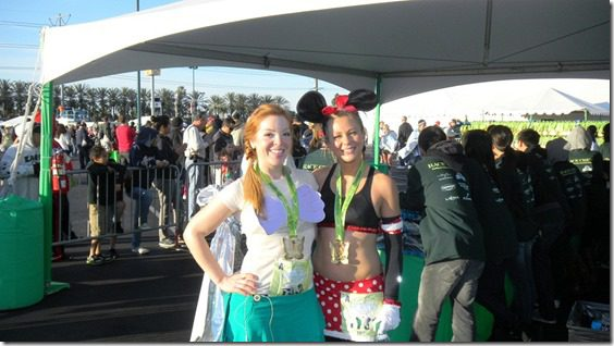 tinkerbell running costume