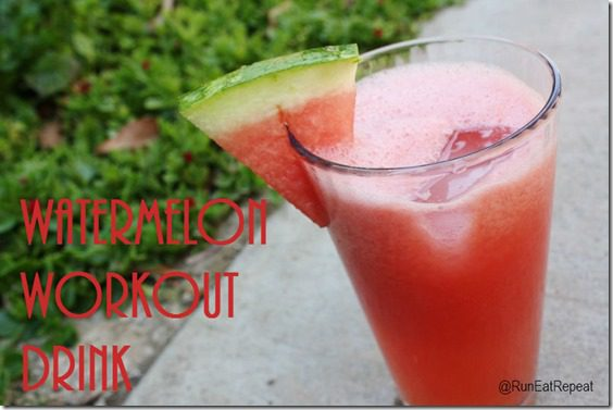 watermelon recovery drink recipe for runners