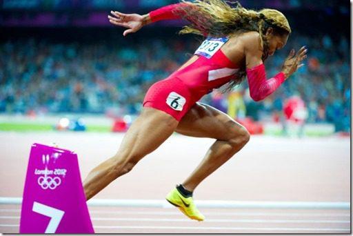Sanya Richards Ross olympics