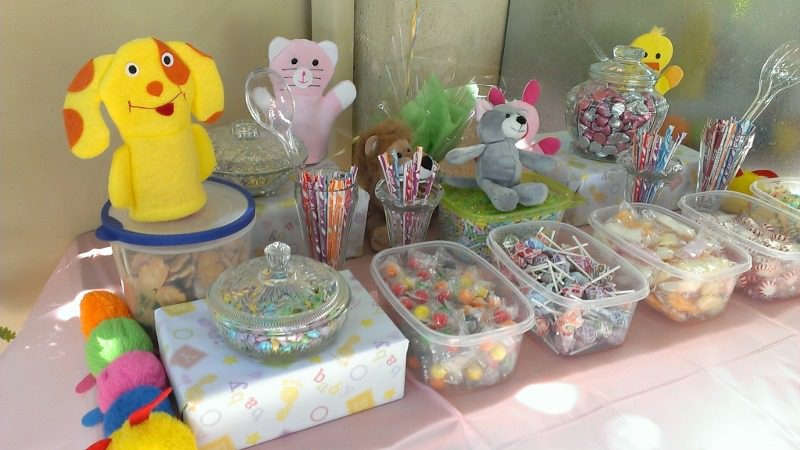 baby shower candy table 800x450