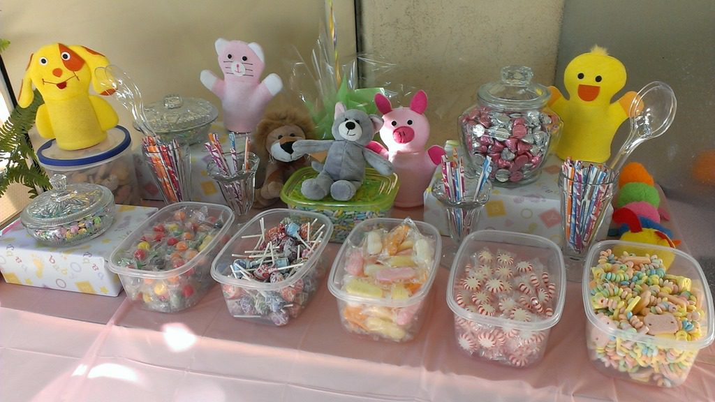 Good Baby Shower Candy Table For Guests