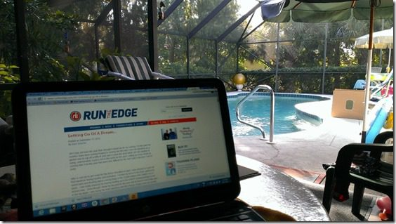 blogging poolside 800x450 thumb That Time I Saw a Manatee and fell in Love