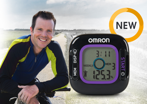 GIVEAWAY - Weight Loss Tracker and Pedometer from Omron