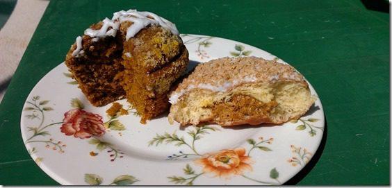 dunkin donuts pumpkin muffin and donut (800x450)