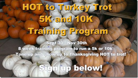 Turkey Trot Training Program