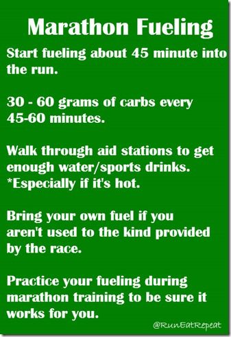 Marathon Training– What's Your Fueling Plan?
