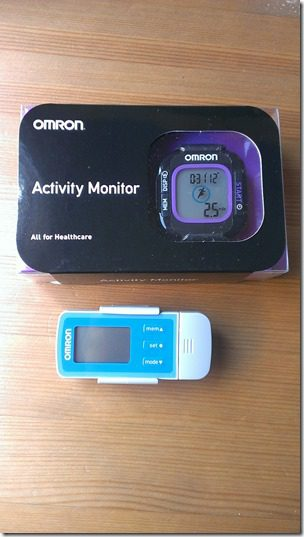 omron activity monitor thumb GIVEAWAY   Weight Loss Tracker and Pedometer from Omron