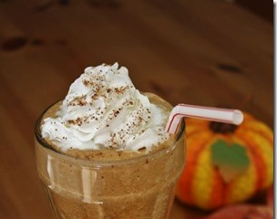 Protein Packed Pumpkin Spice Frap Recipe