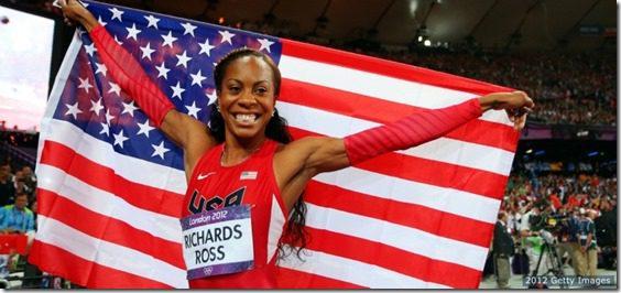 sanya richards ross gold medal