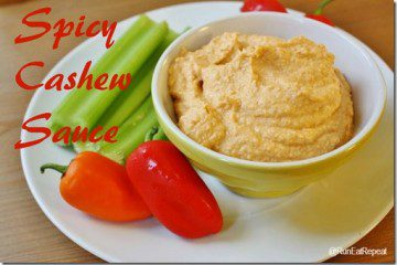 Spicy Cashew Sauce Recipe