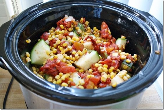 crockpot calabacitas recipe vegetarian