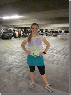 ariel costume for run Disney race