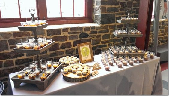 dessert table at dinner with runners world editors (800x450)