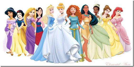 disney princeses