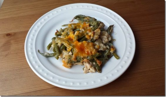 green bean turkey casserole
