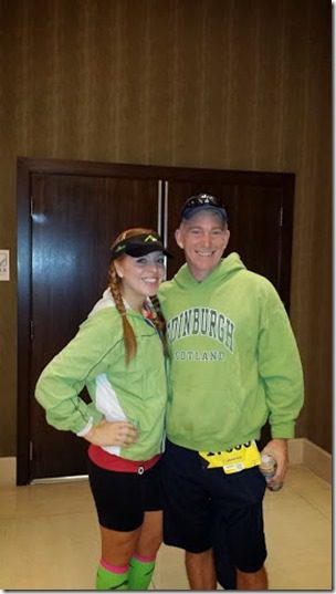 monica and russ 287x510 thumb Marine Corps Marathon Results and Recap