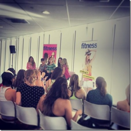 panel fitness magazine bloggers 479x480 thumb Fitness Magazine LA Meet and Tweet