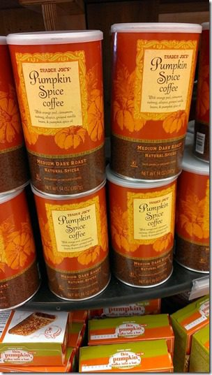 pumpkin spice coffee 450x800 thumb Trader Joe's Must Haves for Fall