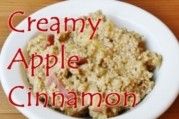 Creamy Apple Cinnamon Quinoa Recipe
