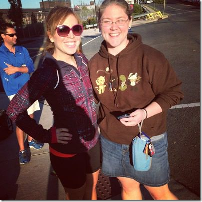 runeatrepeat reader at expo thumb Running with Bart Yasso and Meeting Summer Sanders