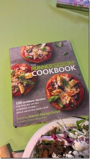 runners world cook book 287x510 thumb1 Running with Bart Yasso and Meeting Summer Sanders