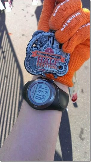 runners world half marathonr results 287x510 thumb Runner's World Half Marathon Race Recap