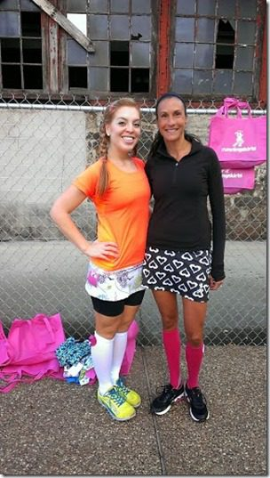 skirt olympics with running skirts 287x510 thumb Running with Bart Yasso and Meeting Summer Sanders