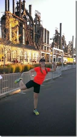 steel stacks runner pose 287x510 thumb A Few Pics from Friday