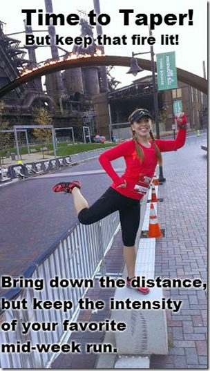 time to taper before nycm thumb Marathon Taper Tips Tuesday