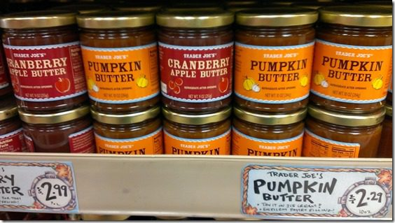 trader joes pumpkin butter cranberry apple butter 800x450 thumb Trader Joe's Must Haves for Fall