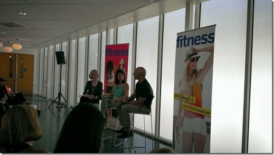 weight loss panel at fitness magazine tweet up in la 800x450 thumb Fitness Magazine LA Meet and Tweet