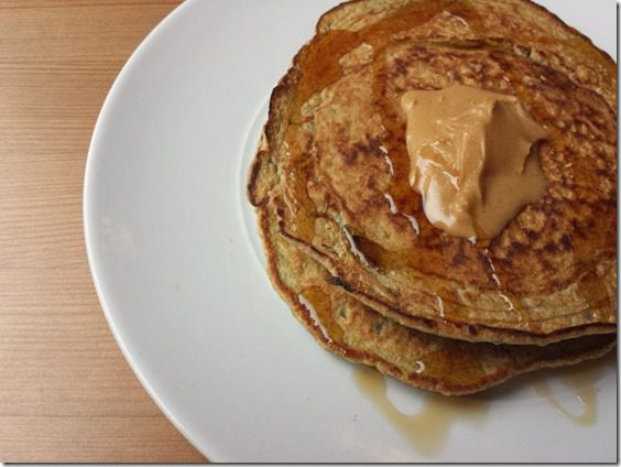 healthy Holiday Spice Protein Pancakes Recipe