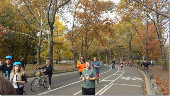 mizunoa shakeout run for new york city marathon