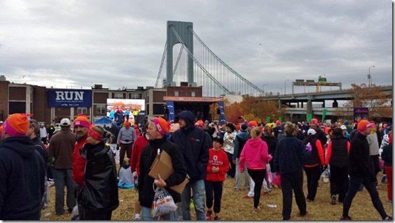 new york city marathon starting village