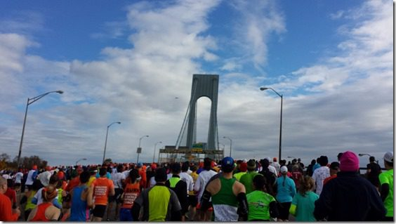 Verrazano Bridge New York City Marathon
